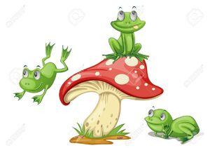 13076854-Illustration-of-3-frogs-on-a-mushroom-Stock-Vector-frog-cartoon-mushroom.jpg