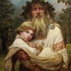 Отец , сын и лесной дух